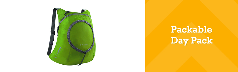 Packable Day Pack Outdoor Products Press Release